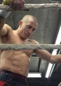 George St Pierre, UFC Welterweight Champion