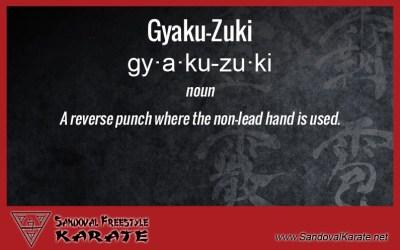 Gyaku-Zuki