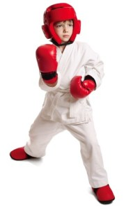 Karate Gear Worn by Boys
