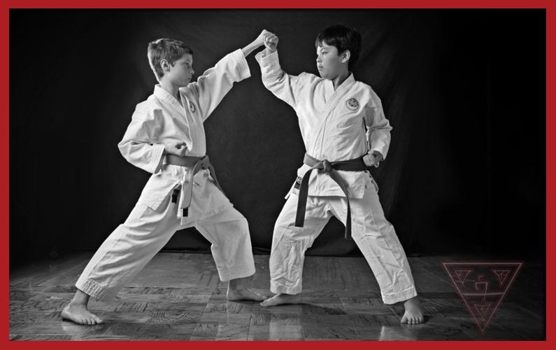 4 Karate Blocks – Inward, Outward, Upper & Lower Block