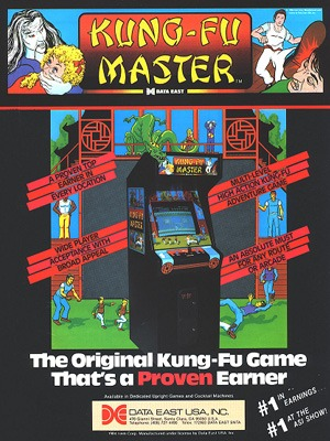Kung Fu Master Video Game