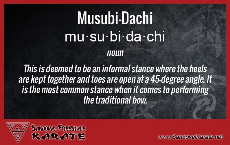 Musubi-Dachi Definition