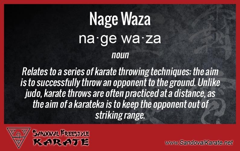 Nage Waza Definition