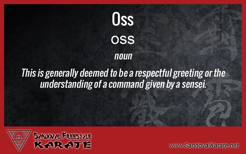 Oss Definition