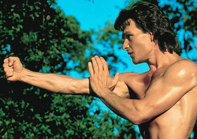 Patrick Swayze as James Dalton in Road House (1989)