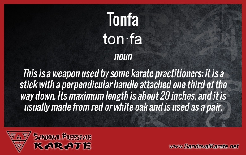 Tonfa Definition