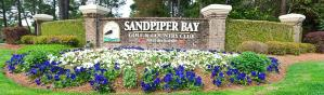 Sandpiper Bay Entrance Way