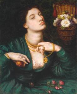 'Monna Pomona' by Dante Gabriel Rossetti [photo: tate.co.uk]