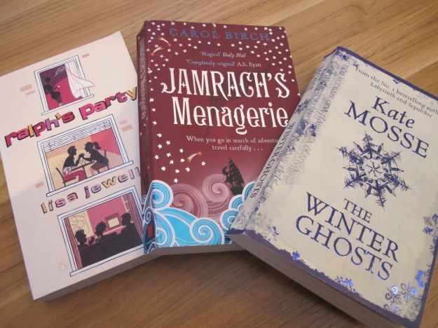 Ralph's Party, Jamrach's M & The Winter Ghosts 2-3-14
