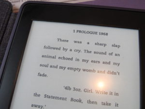 first page IG on Kindle