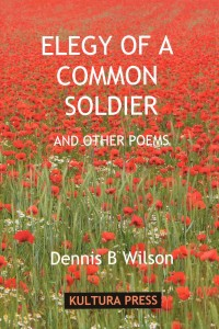elegy of a common soldier and other poems by dennis b wilson 26-10-15