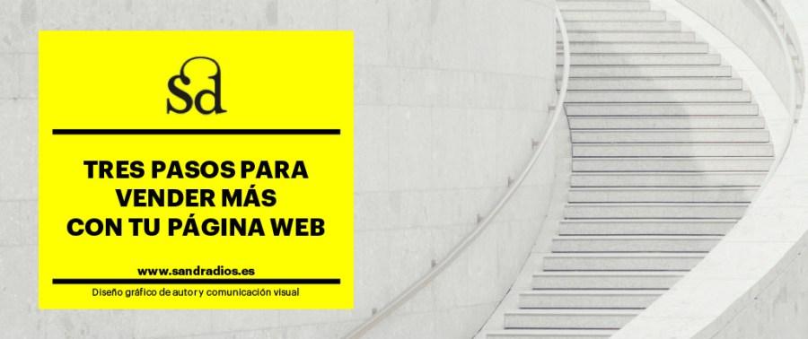 Tres pasos para vender mas con web - escaleras