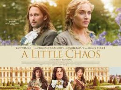 Poster for the movie A Little Chaos