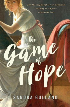 The Game of Hope by Sandra Gulland Canadian Cover