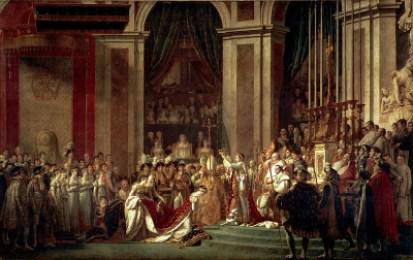 Napoleon crowns Josephine.