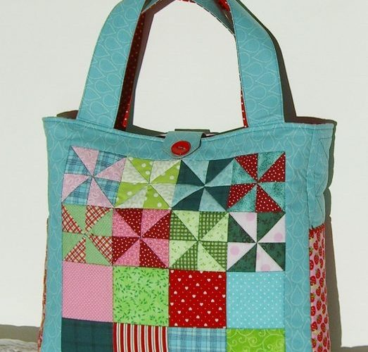 Sandra Healy Designs Pinwheel Bag Front