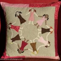 Dancing Girls Cushion