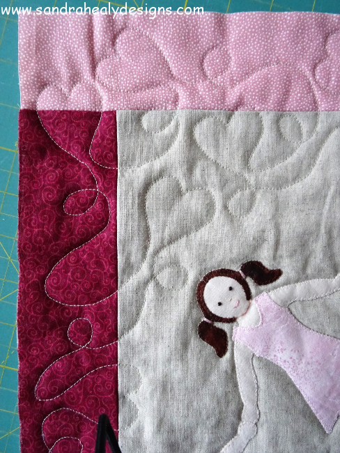 Sandra Healy Designs Quilting Detail