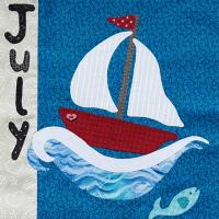 Calendar Quilt – July
