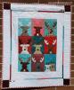 Sandra Healy Designs Reindeer Crew full quilt
