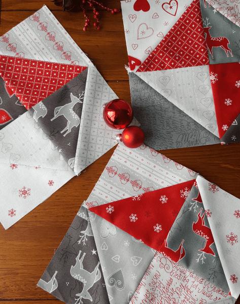 Sandra Healy Designs Seasonal Snippets quilt blocks