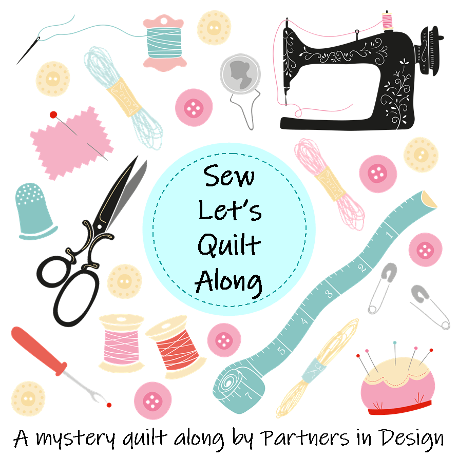 Sandra Healy Designs Sew Let's Quilt Along logo