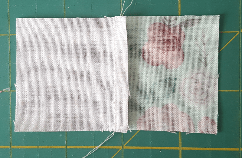 Sandra Healy Designs, How To Test Your Seam Allowance, Stitched Block