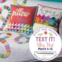 Sandra Healy Designs, Sherri Noel Text It Blog Hop Button