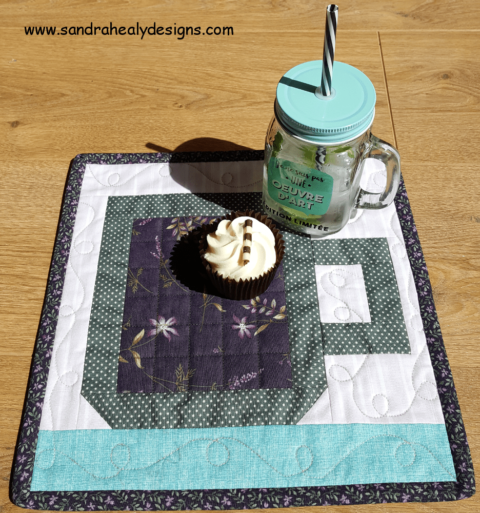 Sandra Healy Designs, Sew Let's quilt along, project ideas, mug rug