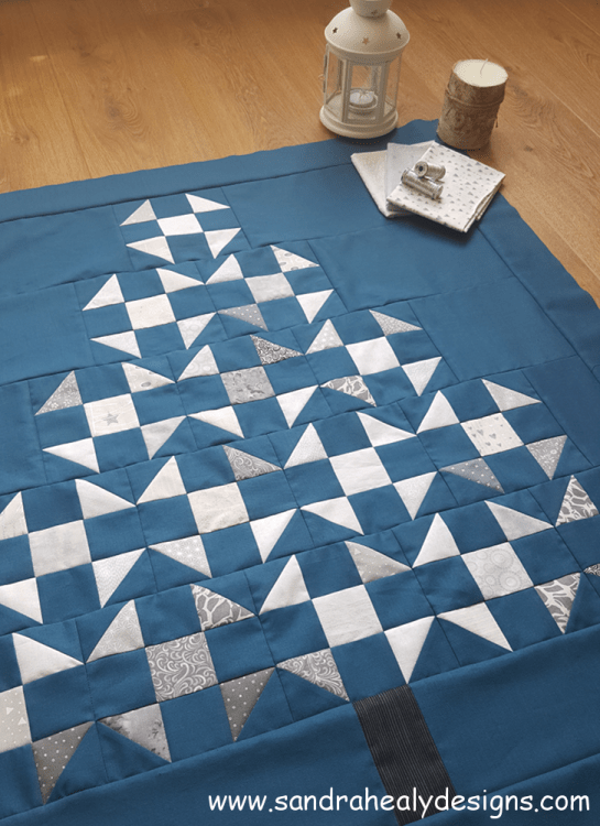 Sandra Healy Designs Christmas Tree Quilt Top