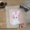 SandraHealyDesigns, 'The Bunny Bunch', left-facing rabbit