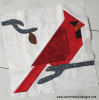 Sandra Healy Designs Cardinal block