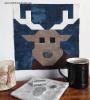 Sandra Healy Designs Reindeer Quilt Block