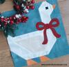 Sandra Healy Designs Christmas goose quilt block