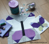 Sandra Healy Designs butterfly quilt block styled