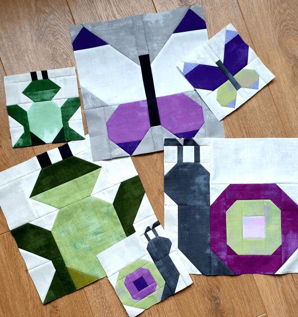 Sandra Healy Designs garden pattern bundle