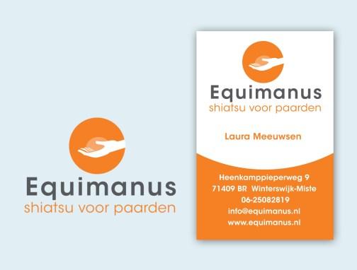 Equimanus logo ontwerp
