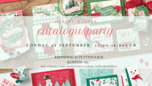 Herfst/winter Catalogusparty