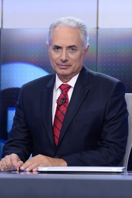 Cenário 2014 - Christiane Pelajo e William Waack