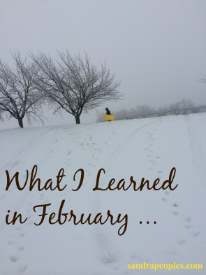 learned in February