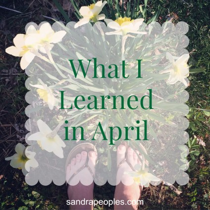 learned in April