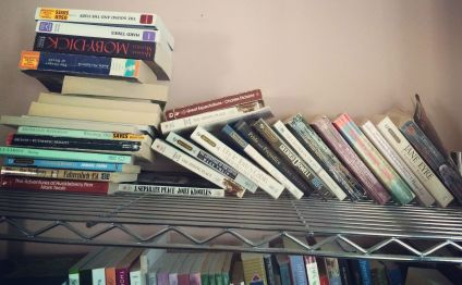 Even the racks we are using for books can't handle the load!