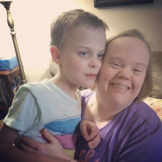 James and Aunt Syble- his inspiration for the future