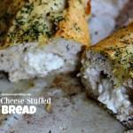 Boursin Cheese Stuffed Bread