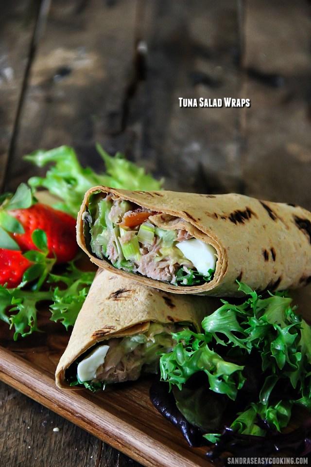 Tuna Salad Wraps Recipe