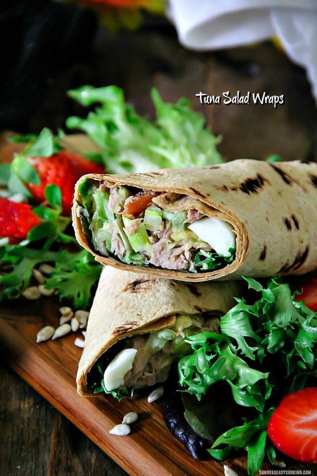 Tuna Salad Wrap Recipe