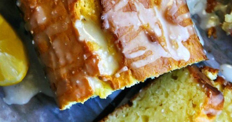 Meyer Lemon Pound Cake