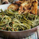 Olive Oil-Garlic SuperGreens Spaghetti Recipe
