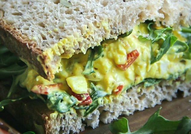 Turmeric Egg Salad