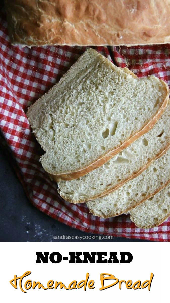 Super Easy and tasty no-knead bread recipe that you will love.